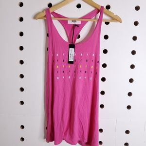 NEW Soul Cycle Star Loop Racerback Tank Top